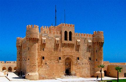 Достопримечательности Египта - форт Кайт-Бей