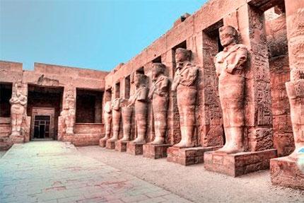 Достопримечательности Египта - Луксорский храм